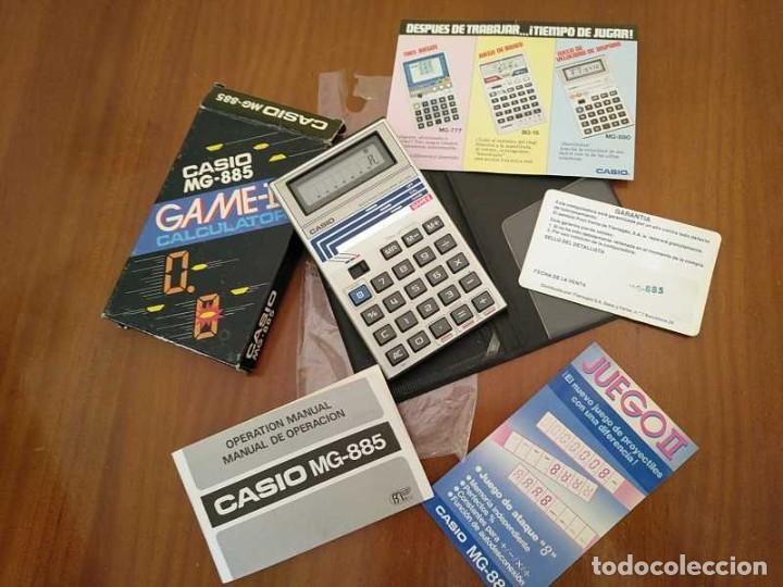 Segunda Mano: CALCULADORA JUEGO CASIO MG-885 GAME II ELECTRONIC CALCULATOR MADE IN JAPAN COMPLETA SIN USAR AÑOS 80 - Foto 73 - 208169318