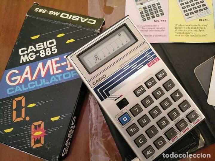 Segunda Mano: CALCULADORA JUEGO CASIO MG-885 GAME II ELECTRONIC CALCULATOR MADE IN JAPAN COMPLETA SIN USAR AÑOS 80 - Foto 74 - 208169318