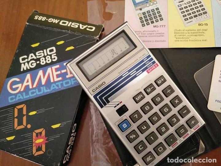 Segunda Mano: CALCULADORA JUEGO CASIO MG-885 GAME II ELECTRONIC CALCULATOR MADE IN JAPAN COMPLETA SIN USAR AÑOS 80 - Foto 75 - 208169318