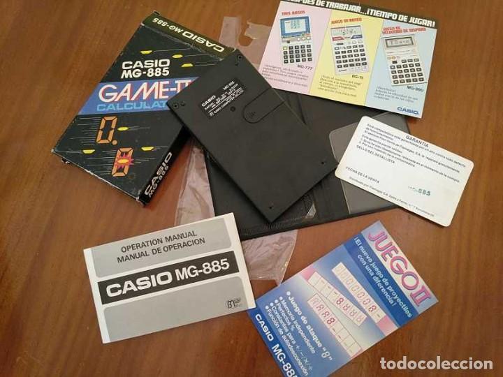 Segunda Mano: CALCULADORA JUEGO CASIO MG-885 GAME II ELECTRONIC CALCULATOR MADE IN JAPAN COMPLETA SIN USAR AÑOS 80 - Foto 76 - 208169318