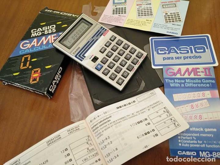 Segunda Mano: CALCULADORA JUEGO CASIO MG-885 GAME II ELECTRONIC CALCULATOR MADE IN JAPAN COMPLETA SIN USAR AÑOS 80 - Foto 83 - 208169318
