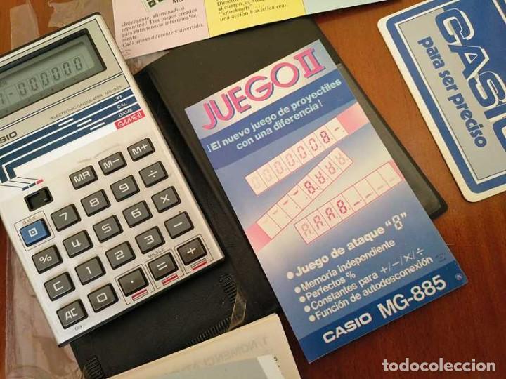 Segunda Mano: CALCULADORA JUEGO CASIO MG-885 GAME II ELECTRONIC CALCULATOR MADE IN JAPAN COMPLETA SIN USAR AÑOS 80 - Foto 85 - 208169318