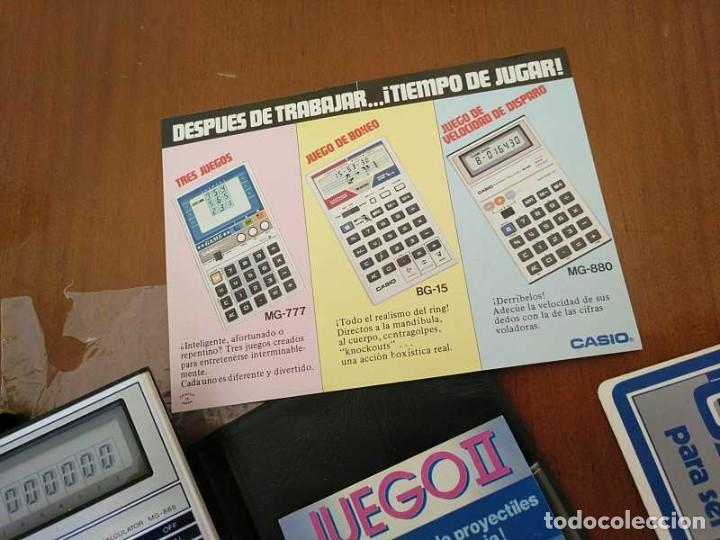 Segunda Mano: CALCULADORA JUEGO CASIO MG-885 GAME II ELECTRONIC CALCULATOR MADE IN JAPAN COMPLETA SIN USAR AÑOS 80 - Foto 86 - 208169318