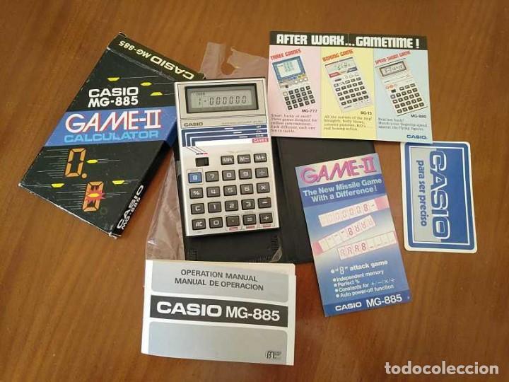 Segunda Mano: CALCULADORA JUEGO CASIO MG-885 GAME II ELECTRONIC CALCULATOR MADE IN JAPAN COMPLETA SIN USAR AÑOS 80 - Foto 87 - 208169318