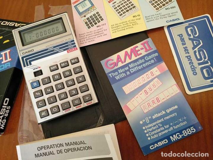 Segunda Mano: CALCULADORA JUEGO CASIO MG-885 GAME II ELECTRONIC CALCULATOR MADE IN JAPAN COMPLETA SIN USAR AÑOS 80 - Foto 88 - 208169318