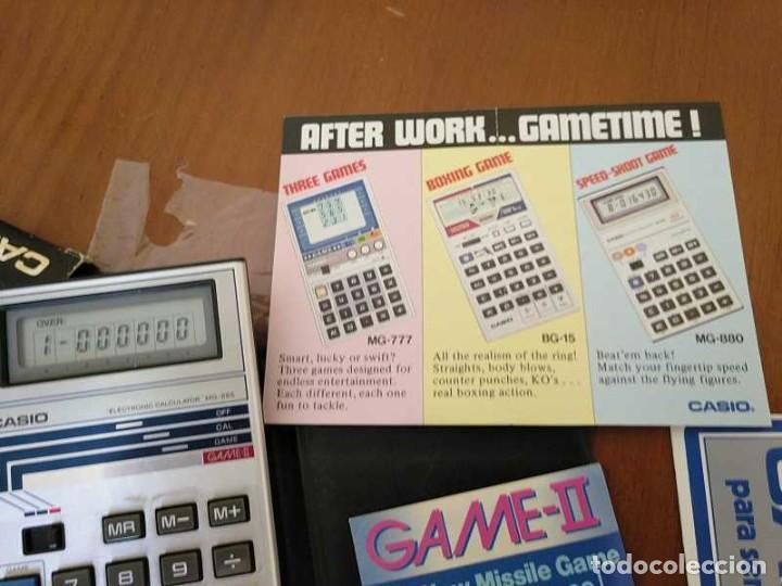 Segunda Mano: CALCULADORA JUEGO CASIO MG-885 GAME II ELECTRONIC CALCULATOR MADE IN JAPAN COMPLETA SIN USAR AÑOS 80 - Foto 89 - 208169318