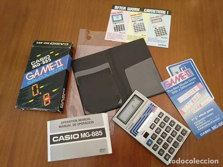 Segunda Mano: CALCULADORA JUEGO CASIO MG-885 GAME II ELECTRONIC CALCULATOR MADE IN JAPAN COMPLETA SIN USAR AÑOS 80 - Foto 90 - 208169318