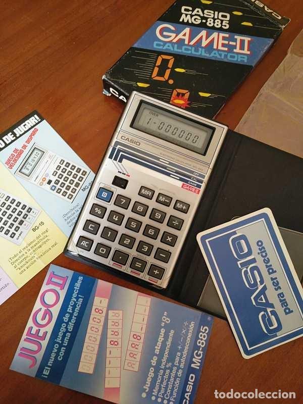 Segunda Mano: CALCULADORA JUEGO CASIO MG-885 GAME II ELECTRONIC CALCULATOR MADE IN JAPAN COMPLETA SIN USAR AÑOS 80 - Foto 94 - 208169318