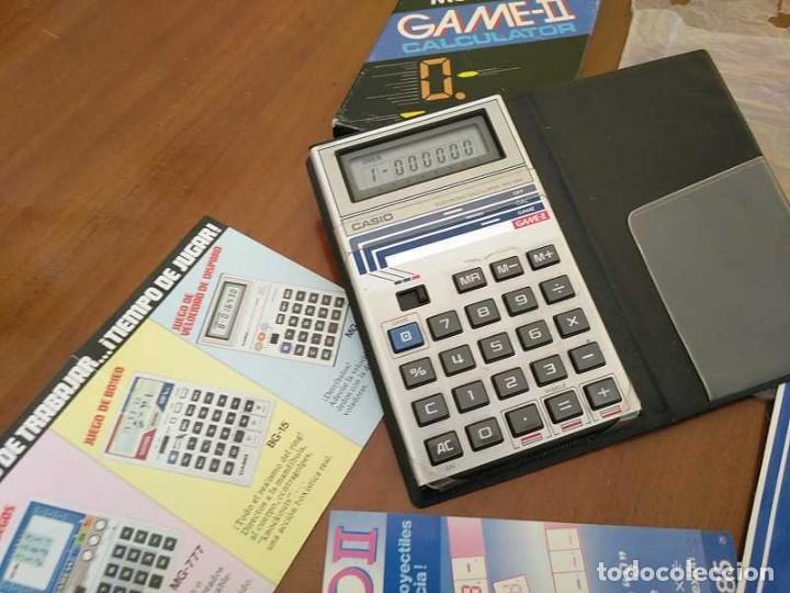 Segunda Mano: CALCULADORA JUEGO CASIO MG-885 GAME II ELECTRONIC CALCULATOR MADE IN JAPAN COMPLETA SIN USAR AÑOS 80 - Foto 95 - 208169318