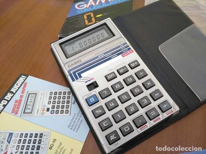 Segunda Mano: CALCULADORA JUEGO CASIO MG-885 GAME II ELECTRONIC CALCULATOR MADE IN JAPAN COMPLETA SIN USAR AÑOS 80 - Foto 96 - 208169318