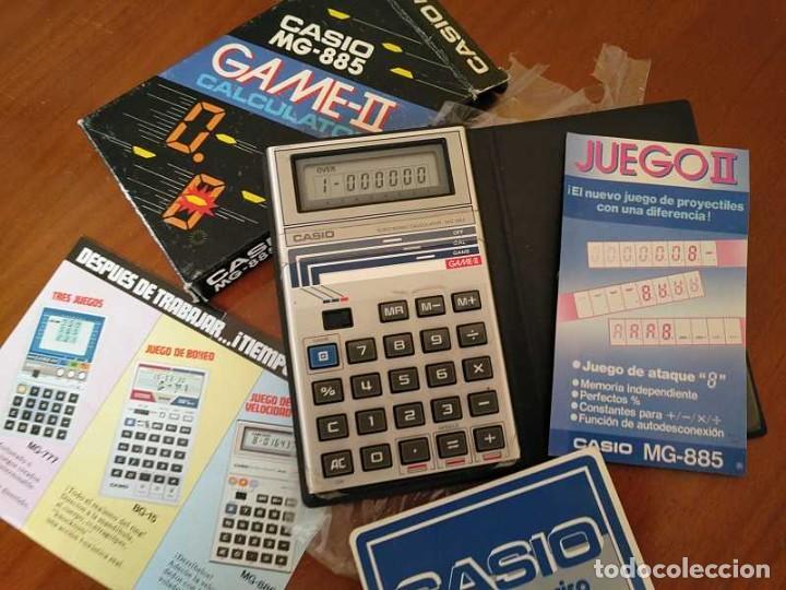 Segunda Mano: CALCULADORA JUEGO CASIO MG-885 GAME II ELECTRONIC CALCULATOR MADE IN JAPAN COMPLETA SIN USAR AÑOS 80 - Foto 98 - 208169318