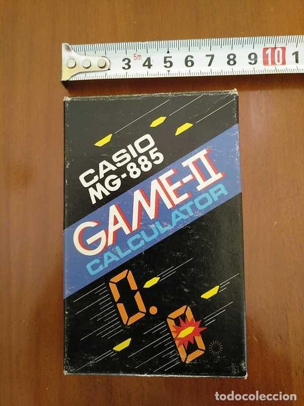 Segunda Mano: CALCULADORA JUEGO CASIO MG-885 GAME II ELECTRONIC CALCULATOR MADE IN JAPAN COMPLETA SIN USAR AÑOS 80 - Foto 101 - 208169318