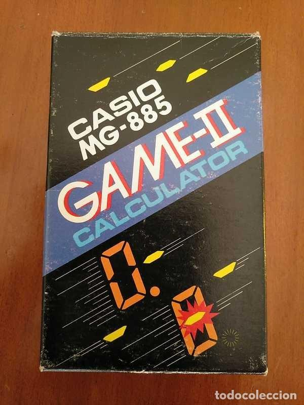 Segunda Mano: CALCULADORA JUEGO CASIO MG-885 GAME II ELECTRONIC CALCULATOR MADE IN JAPAN COMPLETA SIN USAR AÑOS 80 - Foto 105 - 208169318