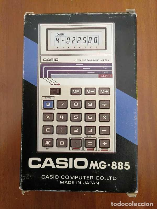 Segunda Mano: CALCULADORA JUEGO CASIO MG-885 GAME II ELECTRONIC CALCULATOR MADE IN JAPAN COMPLETA SIN USAR AÑOS 80 - Foto 106 - 208169318