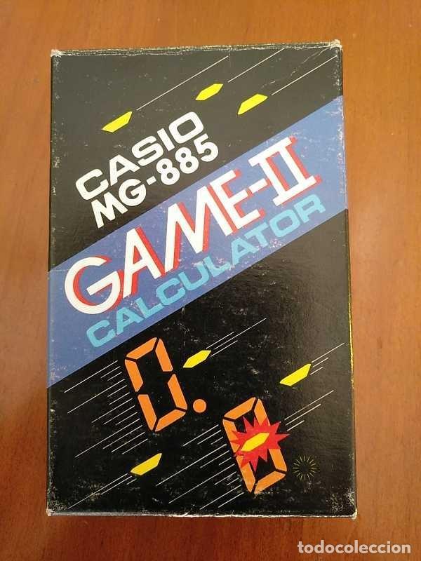 Segunda Mano: CALCULADORA JUEGO CASIO MG-885 GAME II ELECTRONIC CALCULATOR MADE IN JAPAN COMPLETA SIN USAR AÑOS 80 - Foto 111 - 208169318
