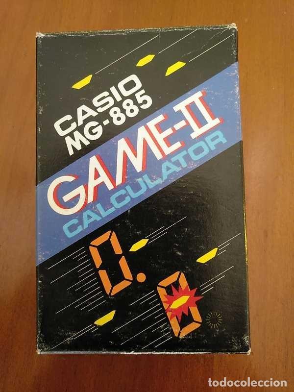 Segunda Mano: CALCULADORA JUEGO CASIO MG-885 GAME II ELECTRONIC CALCULATOR MADE IN JAPAN COMPLETA SIN USAR AÑOS 80 - Foto 112 - 208169318