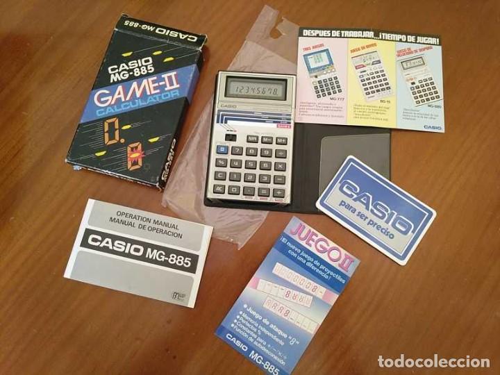 Segunda Mano: CALCULADORA JUEGO CASIO MG-885 GAME II ELECTRONIC CALCULATOR MADE IN JAPAN COMPLETA SIN USAR AÑOS 80 - Foto 122 - 208169318
