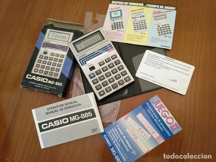 Segunda Mano: CALCULADORA JUEGO CASIO MG-885 GAME II ELECTRONIC CALCULATOR MADE IN JAPAN COMPLETA SIN USAR AÑOS 80 - Foto 125 - 208169318