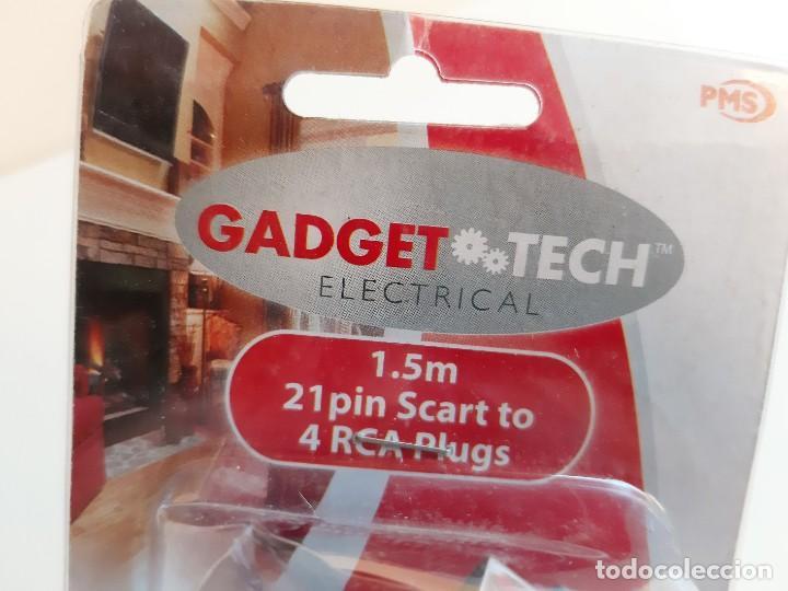 Segunda Mano: CABLE 4 RCA PLUGS Audio Video Cable TV VIDEO 1.5M CONSOLAS (NUEVO EN BLISTER) - Foto 5 - 223750207