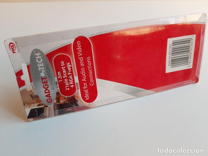 Segunda Mano: CABLE 4 RCA PLUGS Audio Video Cable TV VIDEO 1.5M CONSOLAS (NUEVO EN BLISTER) - Foto 7 - 223750207