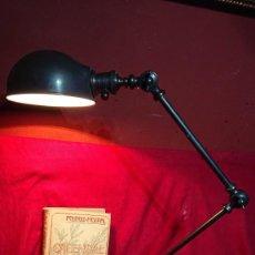 Segunda Mão: LAMPARA ARTICULADA DE DISEÑO INDUSTRIAL TIPO JIELDE IDEAL PARA DESPACHO. Lote 209095740