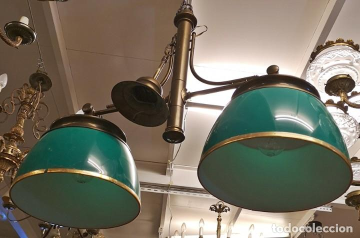 Segunda Mano: Lámpara Techo Verde - Foto 2 - 209311620