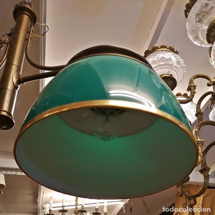 Segunda Mano: Lámpara Techo Verde - Foto 3 - 209311620