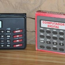 Segunda Mano: ARCADIA - COMPUTADOR DIGITAL DATENBANK - EN SU CAJA ORIGINAL Y FUNCIONANDO. Lote 209843932