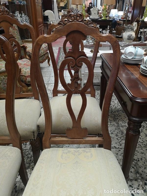 Segunda Mano: Lote de 4 sillas - Foto 2 - 210143895