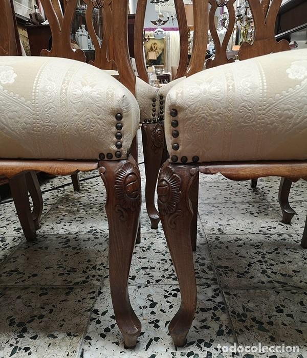 Segunda Mano: Lote de 4 sillas - Foto 3 - 210143895