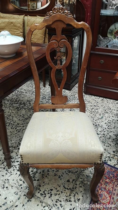 Segunda Mano: Lote de 4 sillas - Foto 4 - 210143895