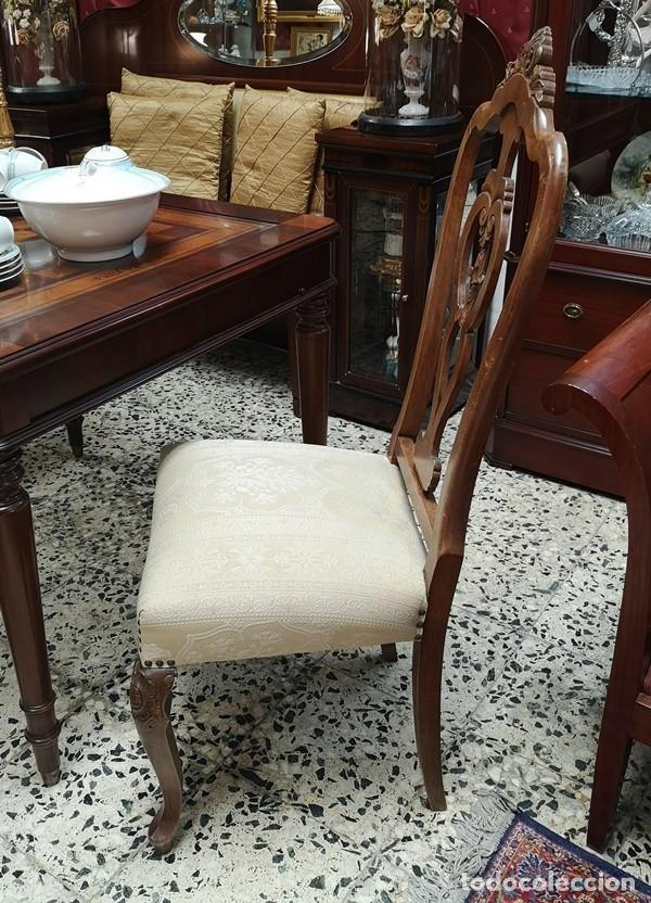 Segunda Mano: Lote de 4 sillas - Foto 5 - 210143895