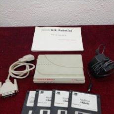 Segunda Mano: FAXMODEM 3COM U. S. ROBOTICS. DESCONOZCO SI FUNCIONA. Lote 211867156