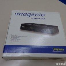 Segunda Mano: DESCODIFICADOR IMAGENIO DE TELEFONICA COMPLETO. Lote 212149703