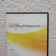 Segunda Mão: OFFICE PROFESSIONAL 2010. Lote 212249550