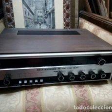 Segunda Mano: RADIO AMPLIFICADOR VINTAGE CLASSIC STERO HIFI ..AKAI AA-6600...SOLID STATE AMPLIFICIER AÑO 1973 .. Lote 212268207