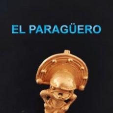 Segunda Mão: SE PUEDE COLGAR CHAMAN DESNUDO ANTROPOMORFO PRECOLOMBINO QUIMBAYA DE ORO TUMBAGA PESO 28 GRAMOS -L3. Lote 212656907