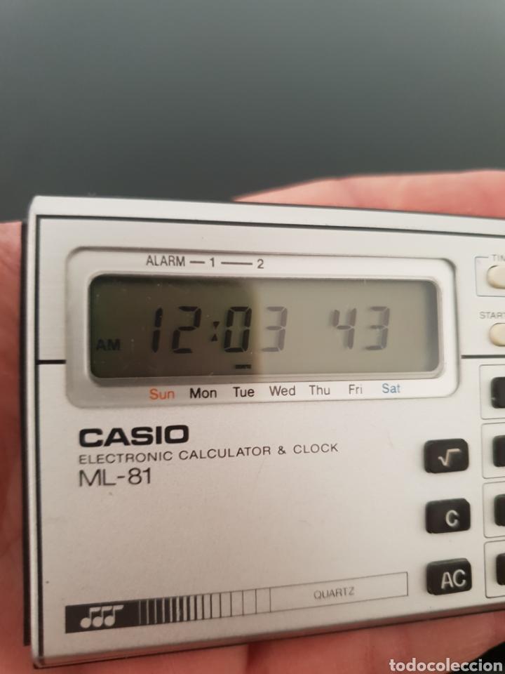 Segunda Mano: Reloj calculadora musical Casio ML-81 - Foto 2 - 213527055