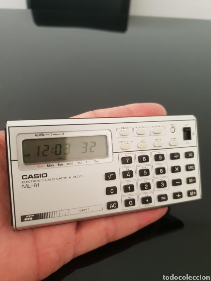 RELOJ CALCULADORA MUSICAL CASIO ML-81 (Segunda Mano - Artículos de electrónica)