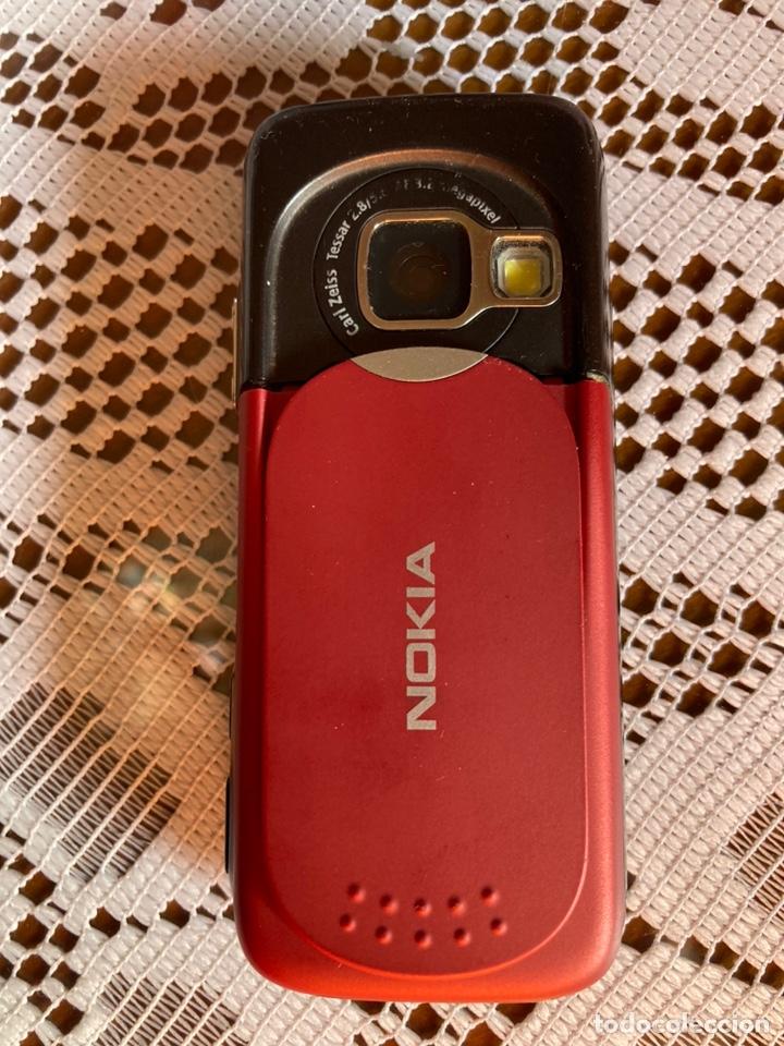 Segunda Mano: Móvil Nokia N73 tapa trasera roja - Foto 3 - 213585577