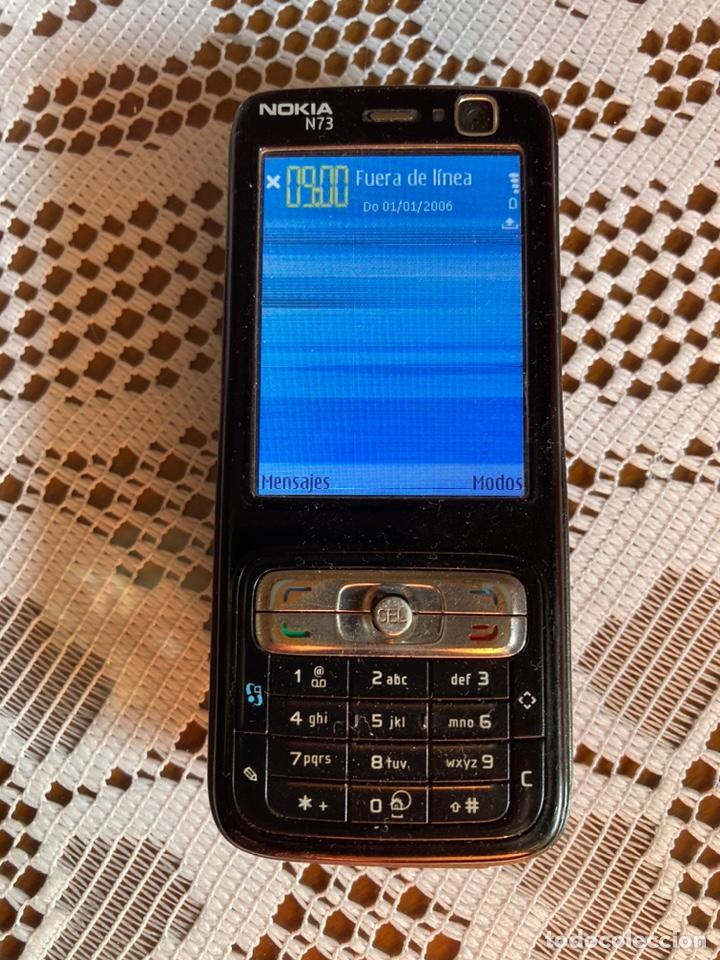 Segunda Mano: Móvil Nokia N73 tapa trasera roja - Foto 4 - 213585577