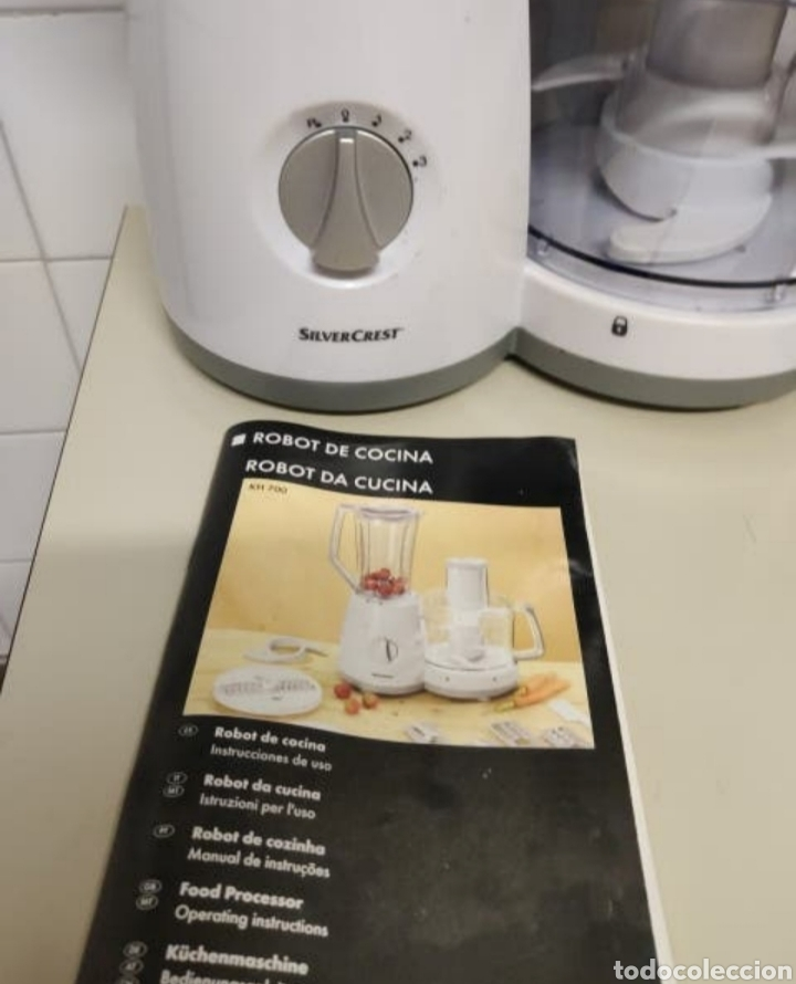 Robot De Cocina Silver Crest Buy Second Hand Home And Decoration At Todocoleccion 192614231