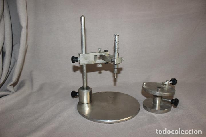 Segunda Mano: Soporte de protésico dental-Paralelometro-Paralizador dental con abrazadera-Acero-Oficios - Foto 2 - 214858316