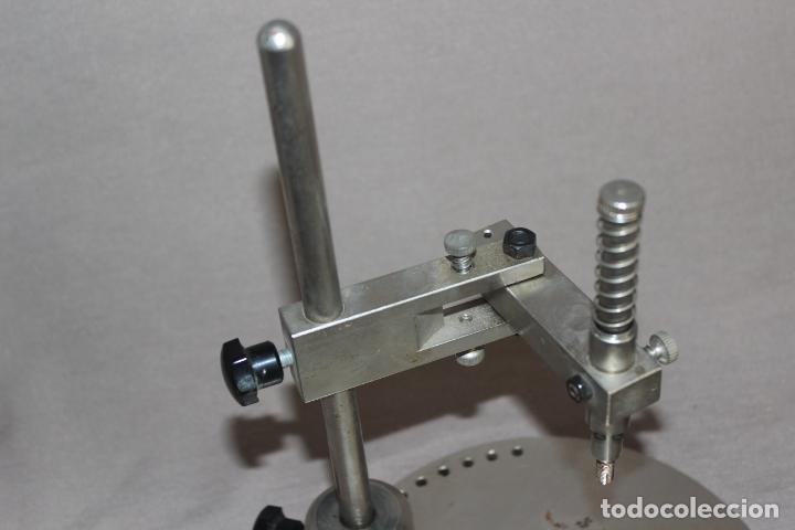 Segunda Mano: Soporte de protésico dental-Paralelometro-Paralizador dental con abrazadera-Acero-Oficios - Foto 4 - 214858316