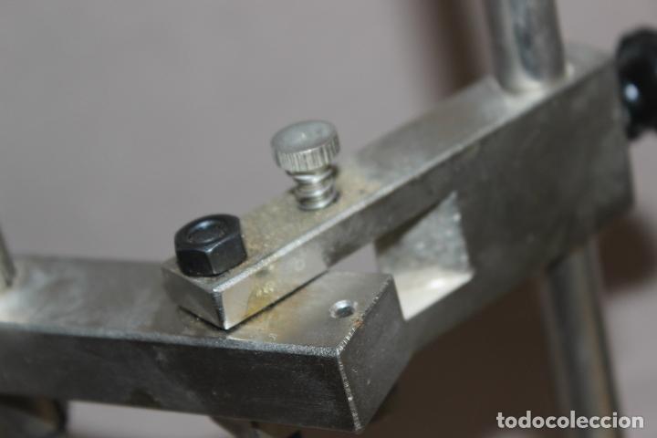 Segunda Mano: Soporte de protésico dental-Paralelometro-Paralizador dental con abrazadera-Acero-Oficios - Foto 6 - 214858316