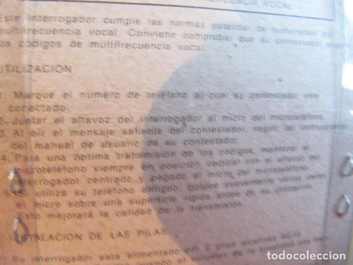 Segunda Mano: Interrogador a distancia ALCATEL - Foto 6 - 214863241