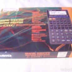 Segunda Mano: CALCULADORA CIENTIFICA CASIO FX 6300G - COMPLETA - FUNCIONANDO. Lote 215641552