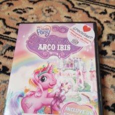Segunda Mano: DVD MY LITTLE PONY EN BUSCA DEL ARCO IRIS. Lote 215783496