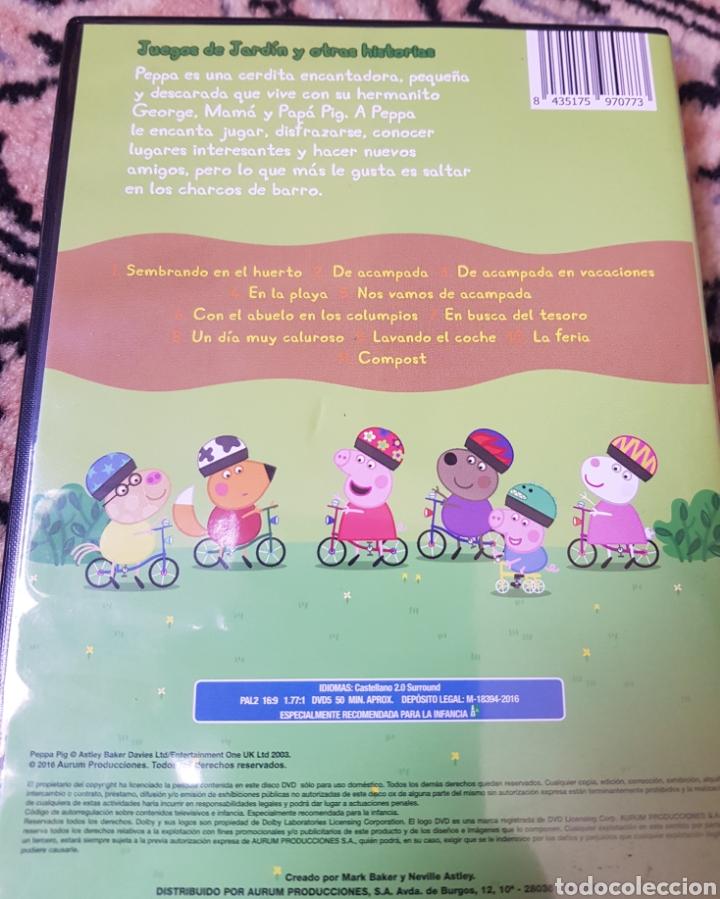 Segunda Mano: DVD Peppa Pig. Juegos de jardín y otras historias - Foto 2 - 215795517