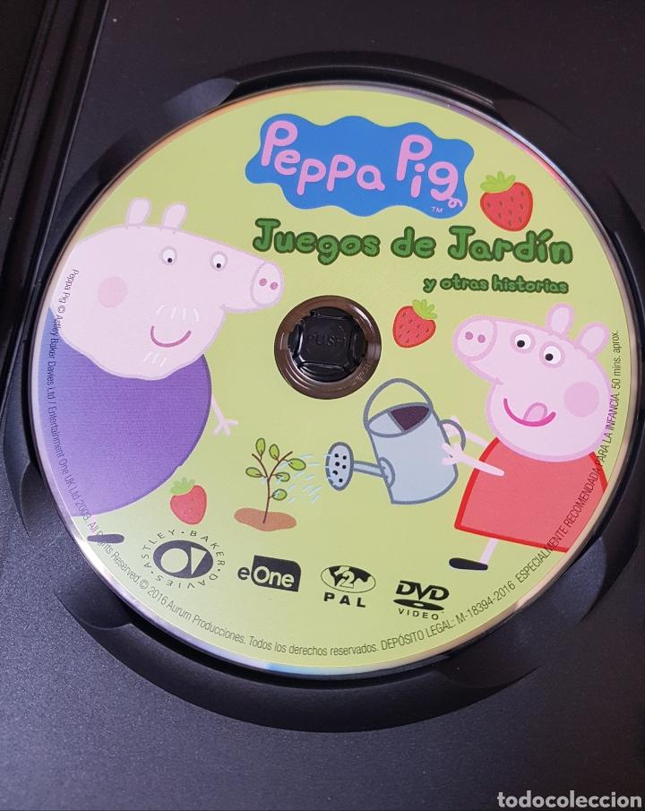 Segunda Mano: DVD Peppa Pig. Juegos de jardín y otras historias - Foto 3 - 215795517